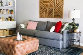 crate and barrel living room our big comfy couch a crate barrel lounge ii sofa review