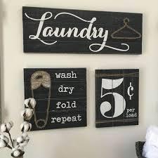 Laundry Room Signs Decor Laundry Room Decor Nisartmacka