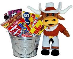 college gift baskets of longhorns snack gift basket at gift baskets etc