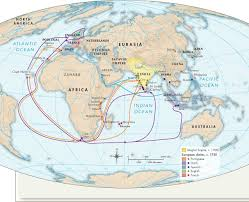 Indian Ocean Map Trade And Empire In The Indian Ocean And South Asia 1450 1750