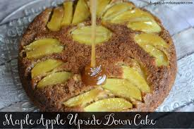 maple apple upside down skillet cake hugs and cookies xoxo