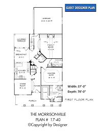 morrisonville house plan house plans by garrell associates inc