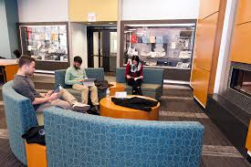 circle reading room quiet space warm atmosphere uic today