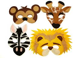 Halloween Masks Crafts by Magical Attic