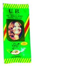 Ub Ginseng u b pearl uv whitening formual 99 aa relieve acne freckles