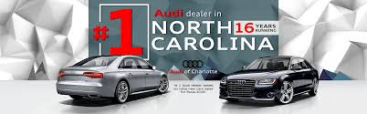 audi audi of charlotte in matthews serving gastonia and concord nc