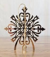 danbury mint gold christmas ornament poinsetta 1990 beautiful