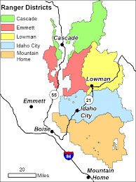 Wildfire Map National by Boise National Forest Home