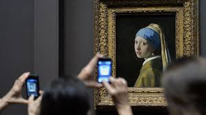 vermeer earring pearl earring is the crown of the frick s exhibit npr