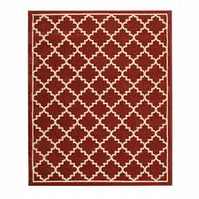 home decorators collection winslow walnut 5 ft x 7 ft area rug