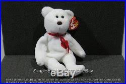 ty valentino original authentic ty valentino white 1994 1993 beanie baby