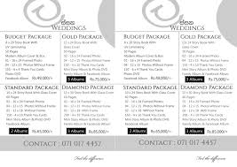 wedding photography packages ව නස wedding photography packages sri lanka lassana weddings