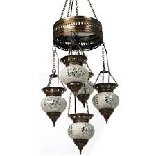 turkish moroccan hanging glass mosaic lamp candle id 8510312