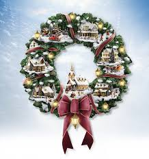 the bradford exchange kinkade wreath