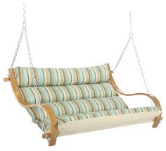 hatteras hammocks deluxe cushioned double swing contemporary