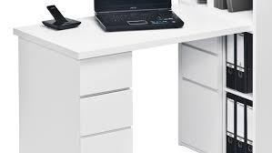 Mini Schreibtisch Office Maja 9562 Schreibtischkombi In Weiß Hochglanz