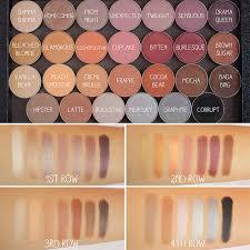makeup geek cosmetics warm eyeshadow palette make up geek culture insram and makeup geek
