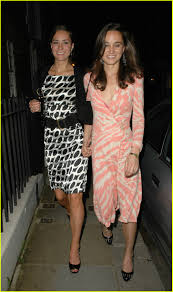 sister support pippa parties with kate during the break up 2007