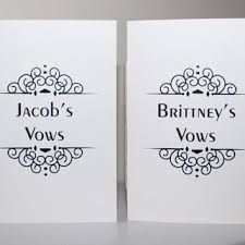 wedding vow cards wedding words of wisdom cards best from jotters and journals
