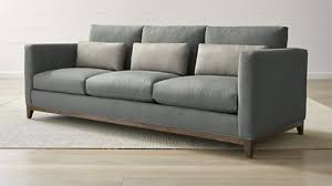 Gray Sofa Bed Sofas Couches And Loveseats Crate And Barrel