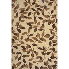 flooring rectangle lowes rugs in cream with wonderful leaf motive