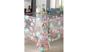 nappe de cuisine rectangulaire vente privée nappe de cuisine rectangulaire aquarelle multicolore