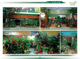 h080605 plasstic artificial outdoor garden decor