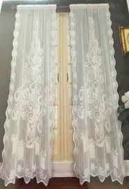 White Lace Window Valances Lichtenberg Top Of The Window Holiday Window Valance 54x17