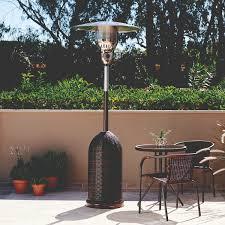 parasol patio heater kingstone gobi rattan gas patio heater u2013 the uk u0027s no 1 garden