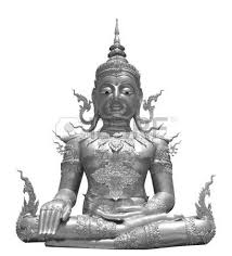 silver buddha statue images stock pictures royalty free silver