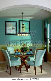 Dining Room Tables Denver Dining Room And Table Middle Class Home Interior Stock Photo
