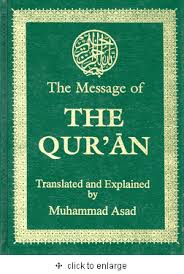 muhammad asad the message of the quran the message of the qur an deluxe ed