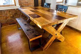 FURNITURE  URBAN TIMBER - Kitchen tables edmonton