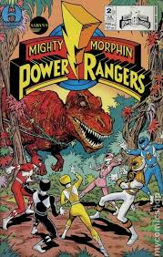 mighty morphin power rangers 1995 limited series comic books