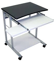 Small Portable Computer Desk Small Portable Computer Desk Cool On Wheels Bedroom Ideas With