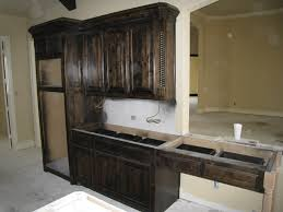 How To Stain Kitchen Cabinets by Kitchen Cabinet Staining Rigoro Us