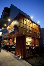 363 best container restaurant ideas images on pinterest