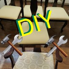 how to reupholster a dining room chair youtube