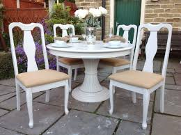 shabby chic round dining table shabby chic round dining table 4 chairs shabby vintage prom