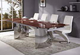 Table Verre Design Italien by Indogate Com Table Salle A Manger Noir Et Blanc