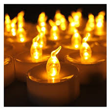 outdoor led tea lights youngerbaby 100pcs amber yellow battery powered flameless flickering