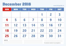 2016 calendar with holidays india