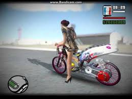 game pc mod indonesia drag race ladybike gta san andreas mod indonesian youtube