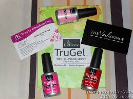 ezflow trugel nail polish intimate sparty at the nail lounge