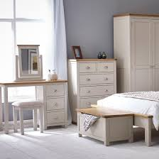 HUTCH Portsmouth Stone Grey Painted Bedroom Range - Painted bedroom furniture