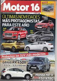 revista motor 2016 revista motor 16 nº 1670 año 2016 prueba lexu comprar revistas