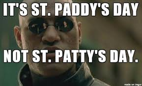 Meme Meaning And Pronunciation - st paddy meme on imgur