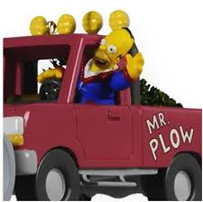 2009 hallmark keepsake ornament mr plow the simpsons hooked