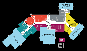 Garden State Plaza Floor Plan Map Of Ocean County Mall In Toms River Nj Store Directory
