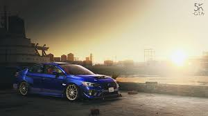 modified subaru wrx 2016 subaru wrx sti replace tuning gta5 mods com